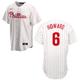 Philadelphia Phillies Youth Replica Ryan Howard Home Jersey