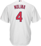 Yadier Molina St.Louis Cardinals Replica Youth Home Jersey - back