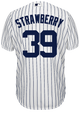 Darryl Strawberry Jersey - NY Yankees Pinstripe Cooperstown Replica Throwback Jersey