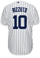 Phil Rizzuto Jersey - NY Yankees Pinstripe Cooperstown Replica Throwback Jersey