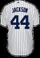 Reggie Jackson Jersey - NY Yankees Pinstripe Cooperstown Replica Throwback Jersey
