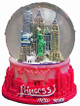 Princess NY Pink 65mm Snowglobe with 1 World Trade Center