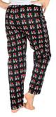 I Love NY Black Allover Print Pajama - back