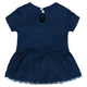 Yankees Baby Bib & Booties Creeper Dress - Back