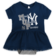 Yankees Baby Bib & Booties Creeper Dress