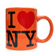 I Love NY Orange 11oz. Mug