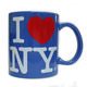 I Love NY Ocean Blue 11oz. Mug