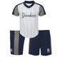 "Yankees Baby""Batting Practice"" Short Set"