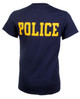 NYPD Badge T-Shirt with Police on Back - Police