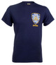 NYPD Badge T-Shirt with Police on Back - Front Badge