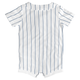 Yankees Baby Cool Base Jersey Romper - back
