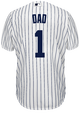 NY Yankees #1 DAD Adult Home Jersey