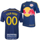 NY Red Bulls Personalized Navy Jersey