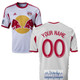 NY Red Bulls Personalized White Jersey