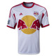 NY Red Bulls Personalized White Youth Jersey - front