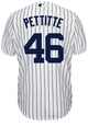 Andy Pettitte Youth Jersey - Yankees Replica Home Jersey