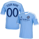 NYCFC Personalized Blue Jersey: Replica Adult Primary Jersey