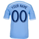 NYCFC Personalized Blue Youth Jersey - front
