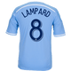 Frank Lampard Blue Primary Replica Youth Jersey - back