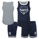 Yankees Toddler Muscle Shirt and Shorts Set