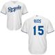 Alex Rios KC Royals Replica Adult Home Jersey