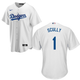 Vin Scully Jersey - LA Dodgers Replica Adult Home Jersey