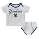 Yankees Baby Pinstripe 2-pc. Set - Double Wordmark