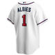 Ozzie Albies Youth Jersey - Atlanta Braves Replica Kids Home Jersey