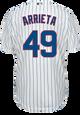 Jake Arrietta Jersey - Chicago Cubs Replica Adult Home Jersey