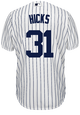 Aaron Hicks Youth Jersey - NY Yankees Replica Kids Home Jersey