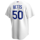 Mookie Betts Jersey - LA Dodgers Replica Adult Home Jersey - back