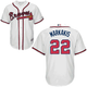 Nick Markakis Jersey - Atlanta Braves Replica Adult Home Jersey