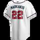 Nick Markakis Youth Jersey - Atlanta Braves Replica Kids Home Jersey