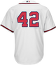 Jackie Robinson Day 42 Youth Jersey - Atlanta Braves Replica Kids Home Jersey