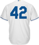 Jackie Robinson Day 42 Jersey - Kansas City Royals Replica Adult Home Jersey