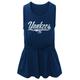 Yankees Toddler Glitter Tank Dress