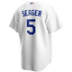 Corey Seager Jersey - LA Dodgers Replica Adult Home Jersey - back