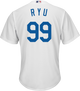 Hyun-Jin Ryu Youth Jersey - LA Dodgers Replica Kids Home Jersey - alt