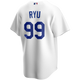 Hyun-Jin Ryu Youth Jersey - LA Dodgers Replica Kids Home Jersey - back