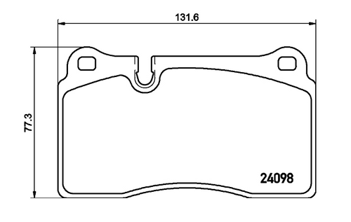 Pagid Road Front Brake Pad Set (T3132)