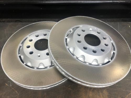 Genuine MQB 340x30mm Front Discs Semi 2-Piece Plain (Pair) (5Q0615301P)