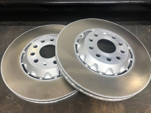 Genuine MQB 340x30mm Front Discs Semi 2-Piece Plain (Pair) (5Q0615301P)