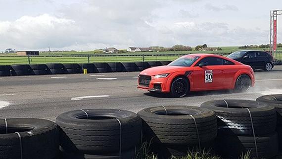 APR UK's TT-RS Drag Car