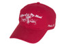 Women's Hat-Lifter of My Head-Red