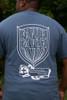 Shield of Favor Grey Inspirational Christian T shirt For Men