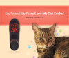 My Friend-My Purry Love-My Cat Socks