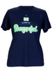 Be Prayerful  Inspirational Christian  T-Shirt For Women Navy Blue