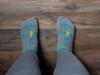 Ultra-Low Cut Ultra-Light Weight Walking By Faith™ Christian Inspirational Socks For Women & Men -Grey