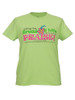 Bread of Life Women's  Inspirational Christian T-shirt  (Green)