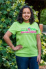 Pan de Vida- La camiseta (Verde lima-Espanol)  Bread of Life-T-shirt (Green-Spanish)